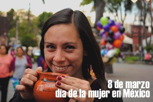 ¿Cuándo es el día de la mujer en México?