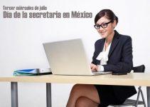 ¿Cuándo es el día de la secretaria en México?