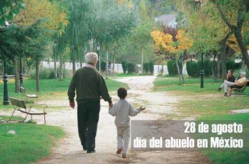 ¿Cuándo es el día del abuelo en México?