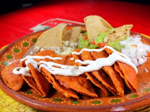 Enchiladas potosinas receta