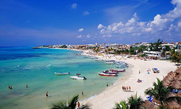 Turismo en playa del Carmen