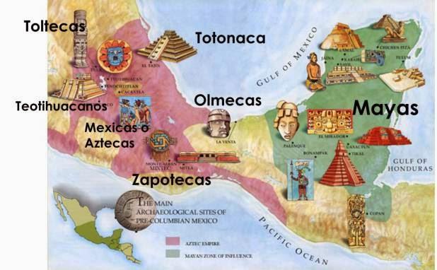 Culturas prehispánicas de México