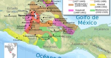 Ubicación de la cultura azteca