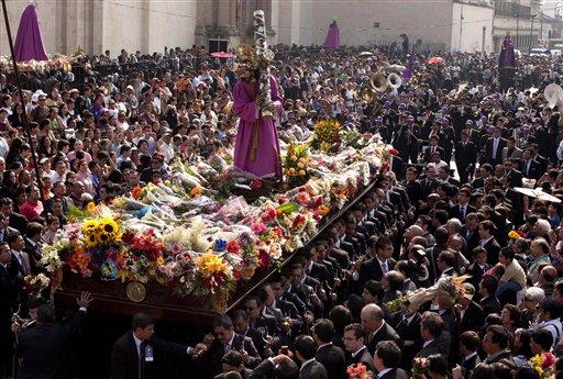 ¿Cómo se celebra la Semana Santa en México?