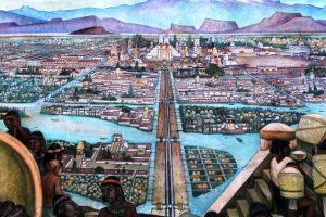 ¿Cuál es el nombre de la ciudad de los Aztecas?