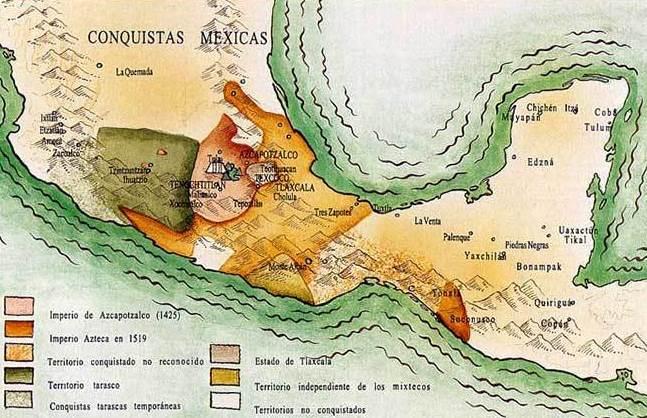 ¿Dónde se desarrollo la cultura mexica en México?