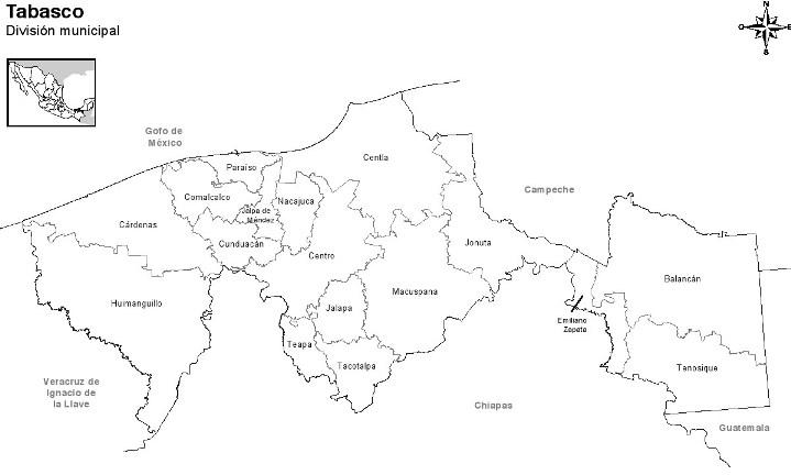 Municipios de Tabasco