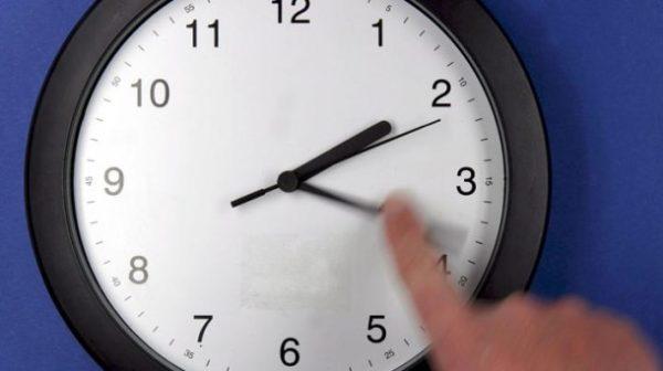 Cambio de horario en mexico