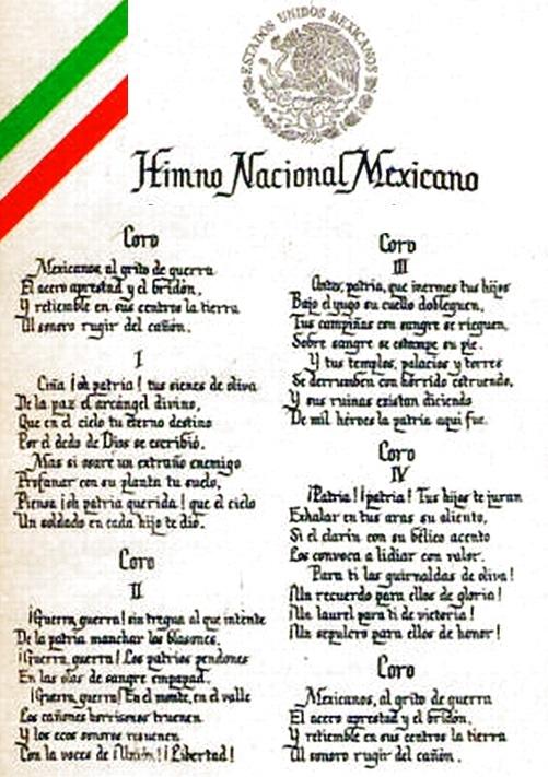 Himno de México completo