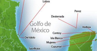 Islas del golfo de México