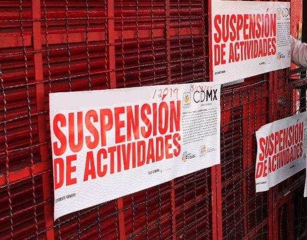 Multas y clausuras a los negocios en Ciudad de México